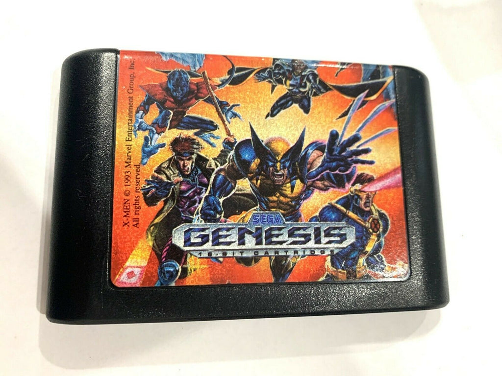 X-Men SEGA GENESIS ORIGINAL GAME CARTRIDGE Tested + Working & Authentic!