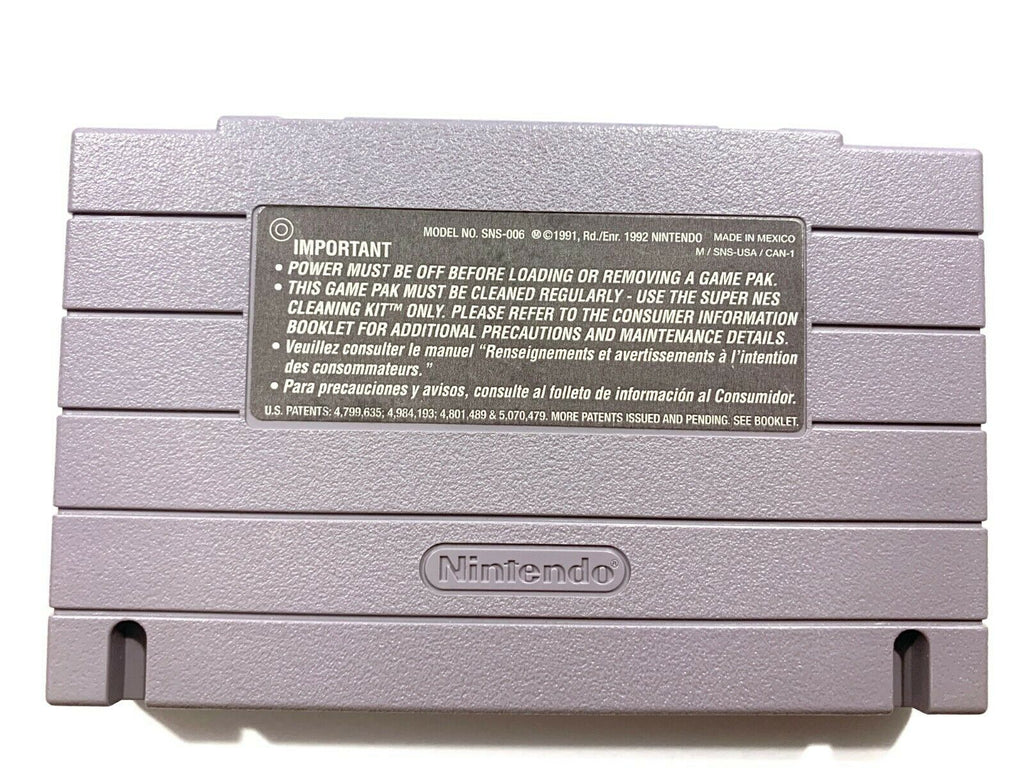 Bass Masters Classic Pro SNES Super Nintendo Game Tested - Working - Authentic!