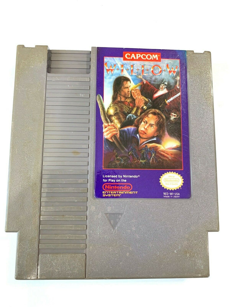 Willow ORIGINAL NINTENDO NES CAPCOM GAME Tested + Working & Authentic!