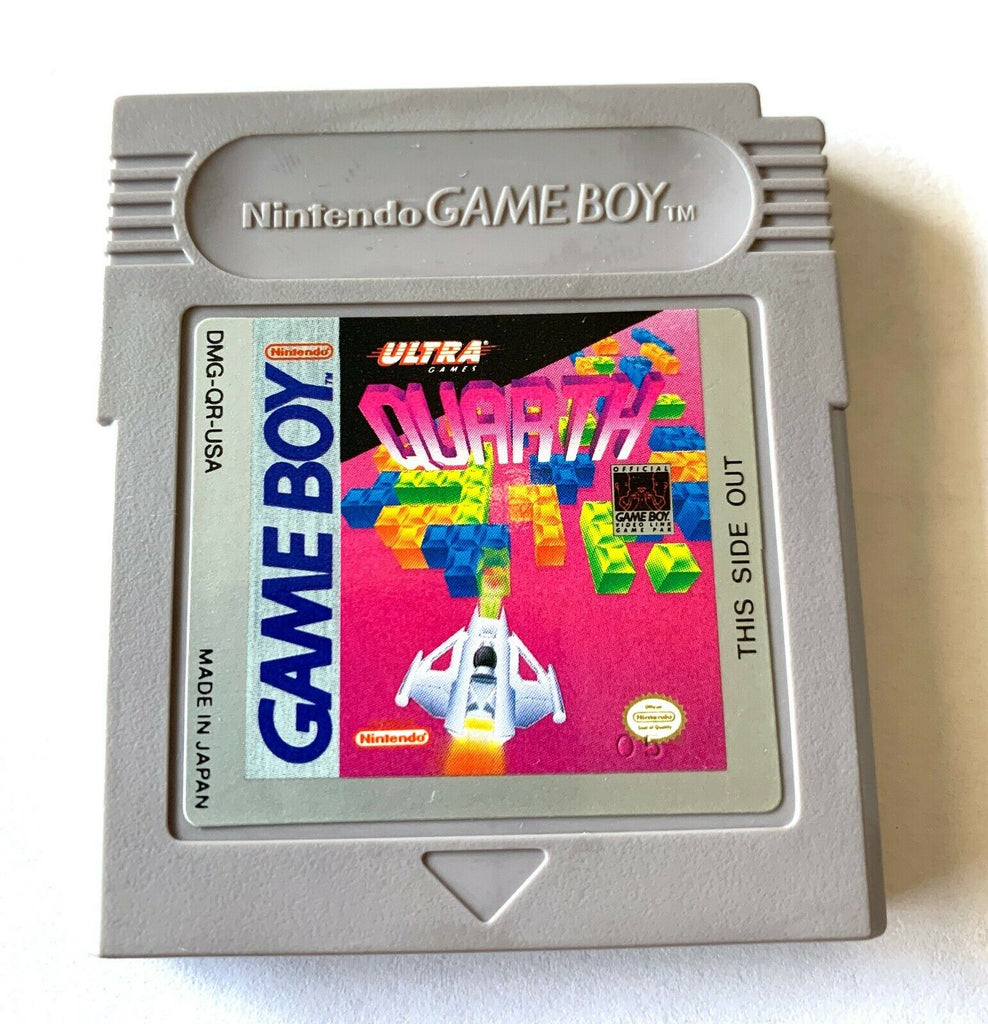 Quarth ORIGINAL NINTENDO GAMEBOY GAME Tested WORKING Authentic!