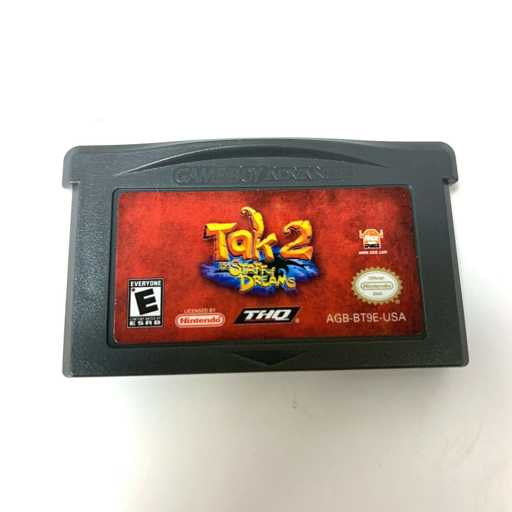 TAK 2: THE STAFF OF DREAMS NINTENDO GAME BOY ADVANCE SP GBA