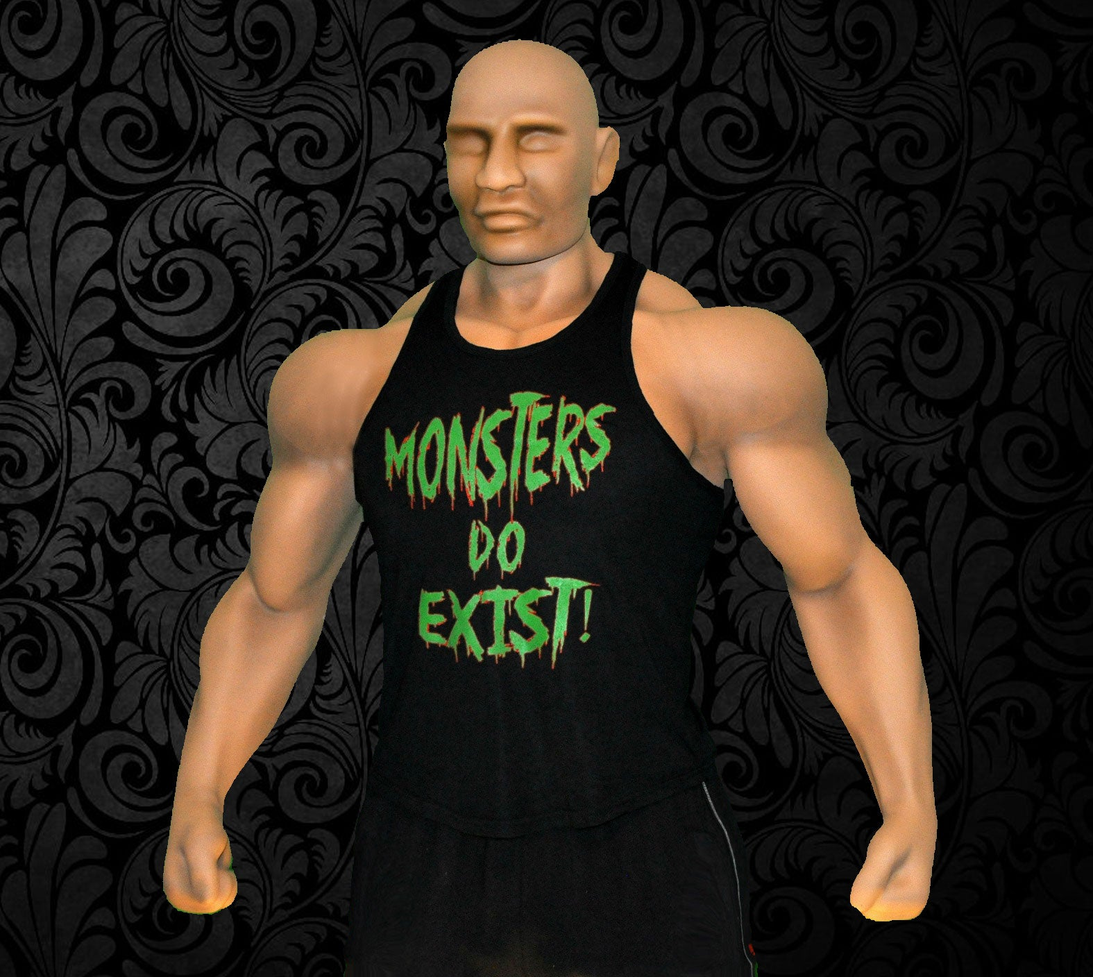 Raw Edge Tank Top - Monsters Do Exist