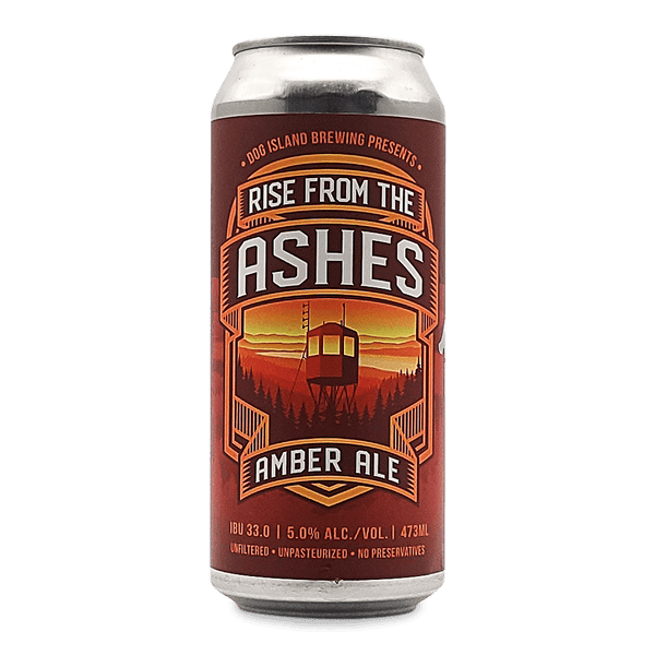 Dog Island Rise From the Ashes Amber Ale
