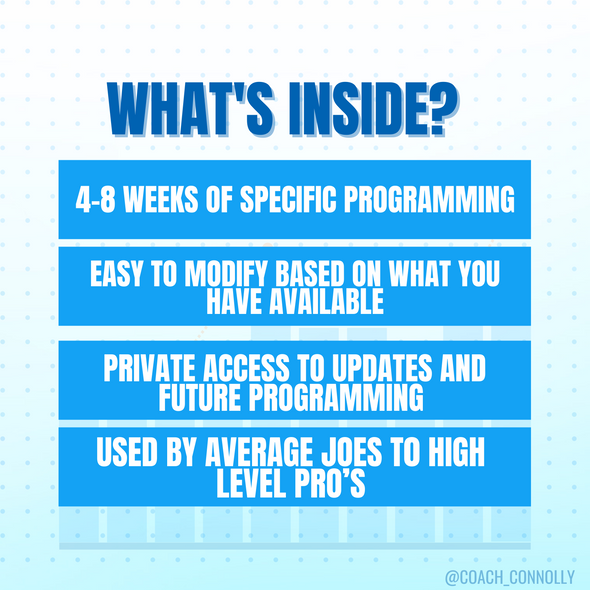 Strength & Conditioning (Phase 1-4)