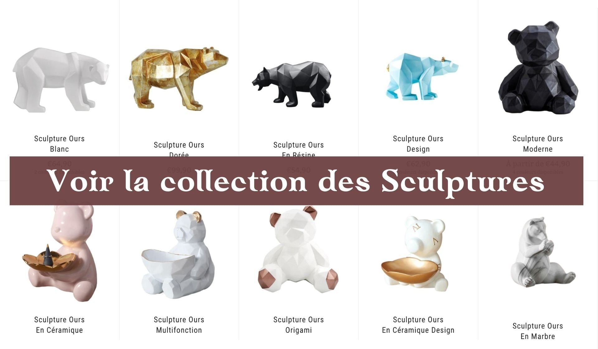 Sculptures Ours