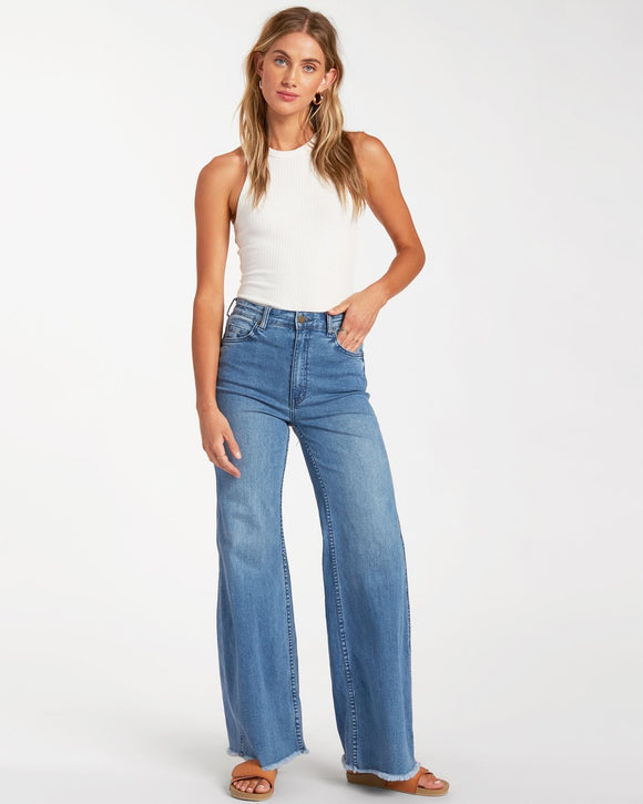 Wide Range Denim Pant