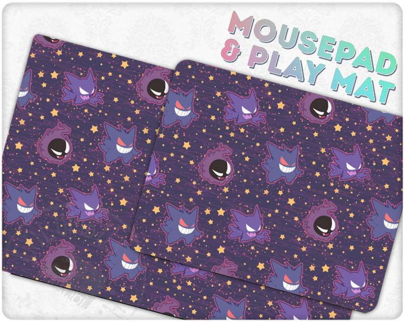 Ghost Types Series Mousepad - Edolatry
