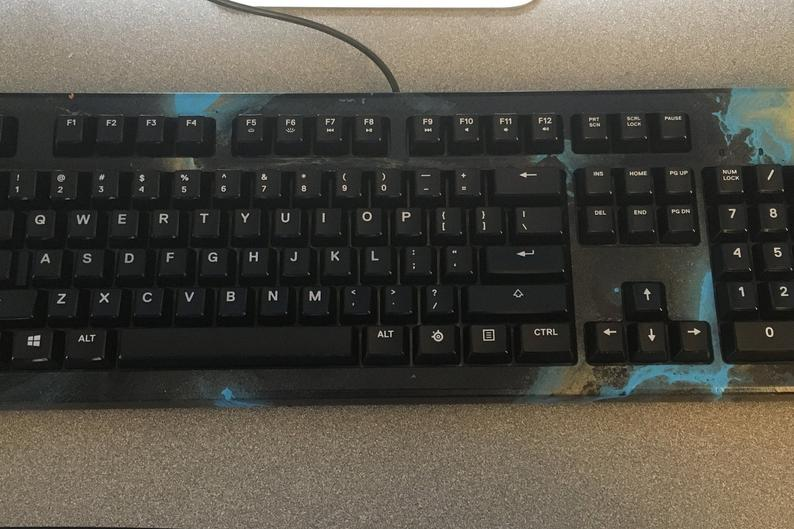 Hydro Dipped Steel Series Gaming keyboard - Edolatry