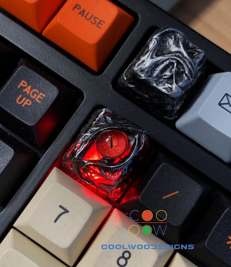 Dragon Eye Handmade Artisan Keycaps - Edolatry