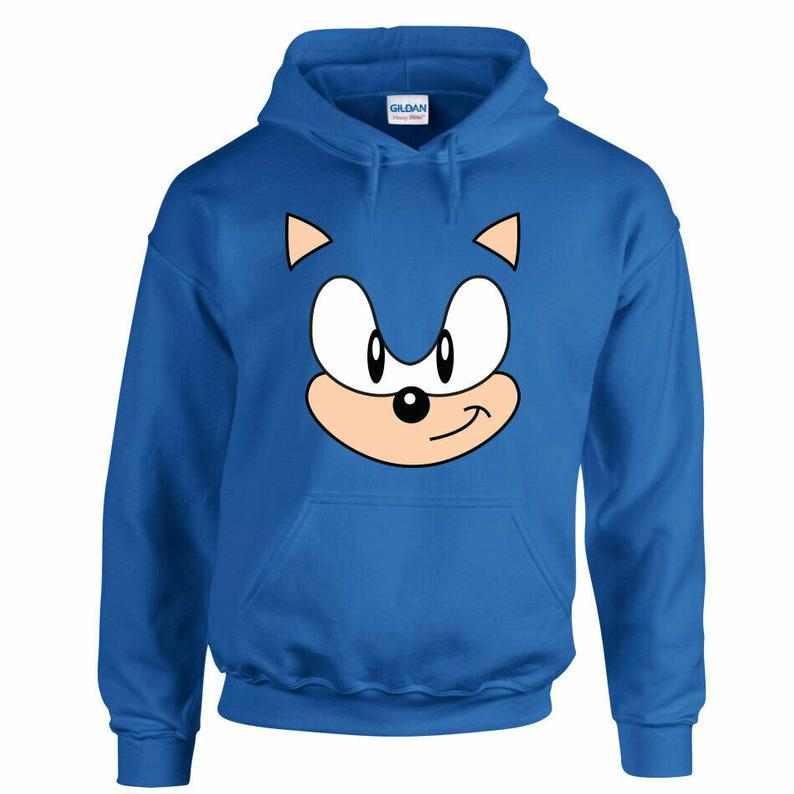 SONIC THE HEDGEHOG Hoodie - Edolatry