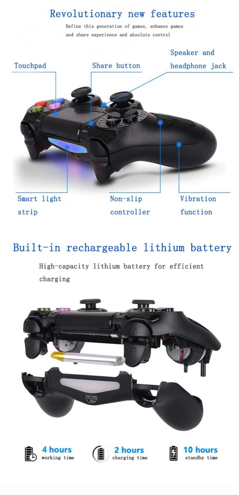 Wireless Bluetooth Gaming Controller - Edolatry