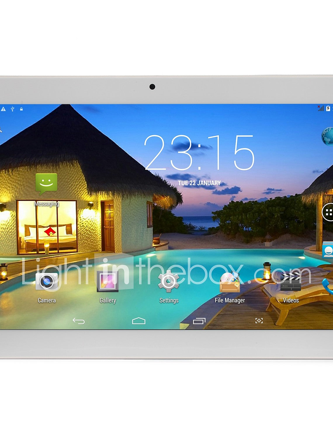 10.1 inch Android Tablet (Android 5.1 1280 x 800 Quad Core 2GB+32GB) / 64 / Mini USB / SIM Card Slot / TF Card slot / 3.5mm Earphone Jack - Edolatry