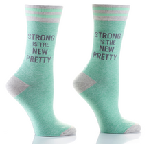 Load image into Gallery viewer, Women's crew socks , with sayings: 5 designs