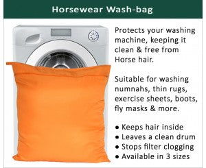 Horsewear Wash Bag - Keep Your Machine Hair Free