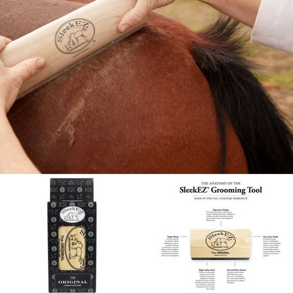 SleekEZ ultimate horse grooming tool