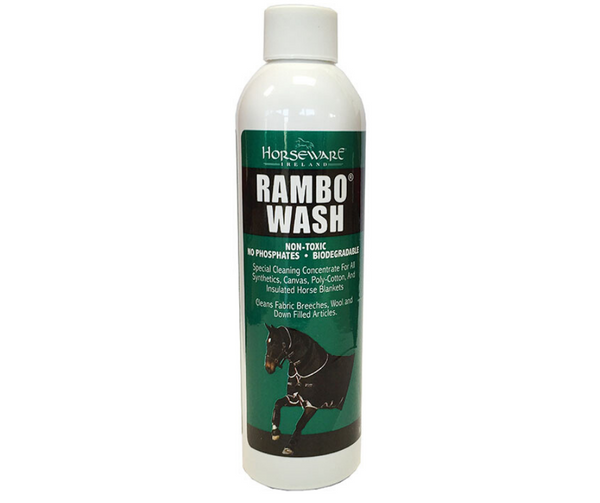 Rambo Rug Wash 250ml Cotton Fresh with Non-Toxic Antibacterial Properties