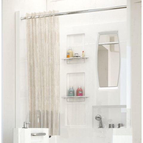 MediTub Shower Enclosure 31 x 40 Walk-In Bathtub Surround in White