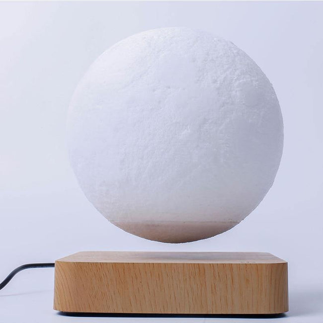 Levitating Moon Lamp and Levitating Jupiter Lamp - ExponentStore