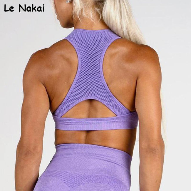 High Impact Seamless Sports Bra - ExponentStore