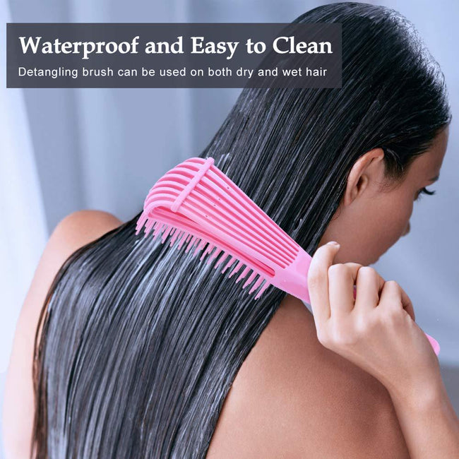 Flexible Silicone Detangling Hair Brush - ExponentStore