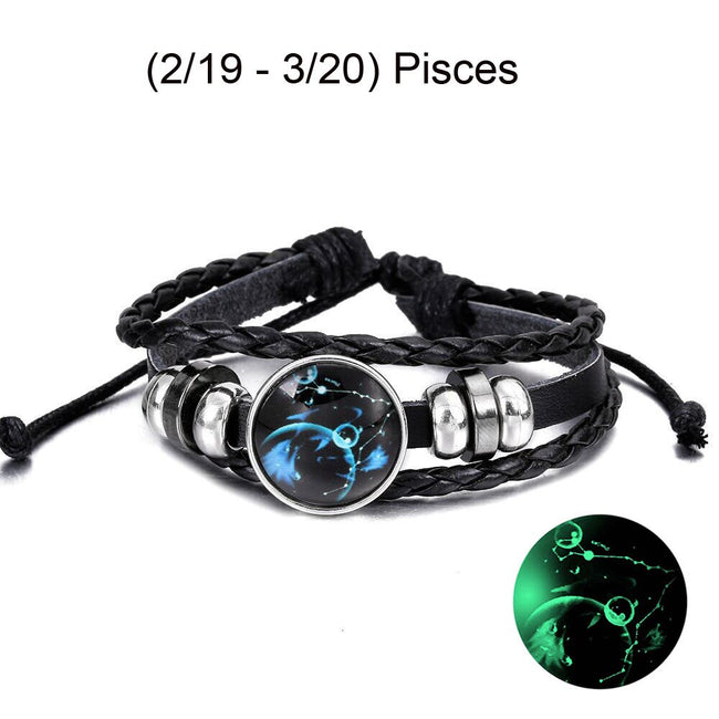 Nebulas Star Constellation Braided Bracelet