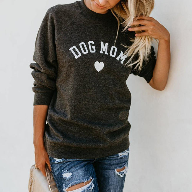 DOG MOM Sweatshirt - ExponentStore