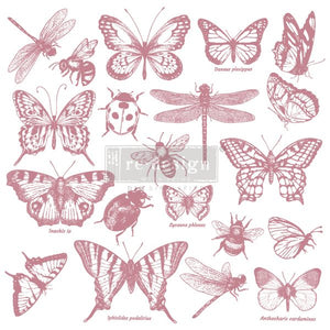 Monarch Clear Cling Stamp
