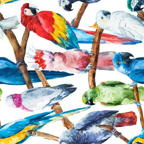Birds Rice Decoupage papers