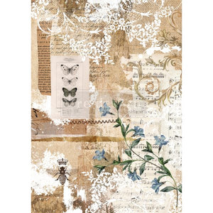 Botanical Sonata  Redesign with Prima Rice Paper