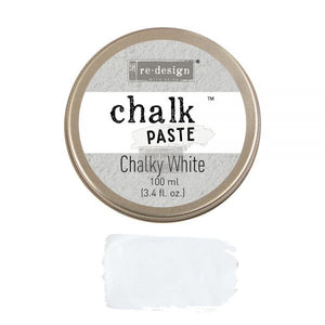 Chalky White ReDesign with Prima Chalk Paste