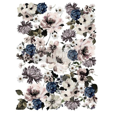 REDESIGN DECOR TRANSFERS® – DARK FLORAL