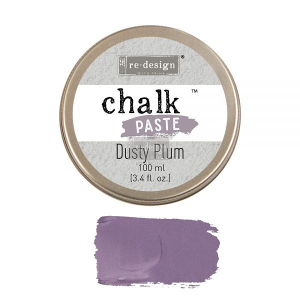 Dusty Plum ReDesign with Prima Chalk Paste