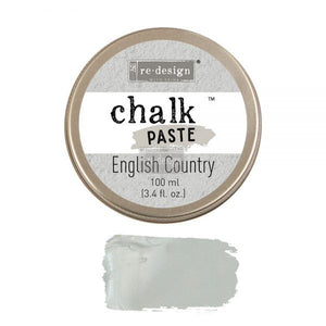 English Country ReDesign with Prima Chalk Paste
