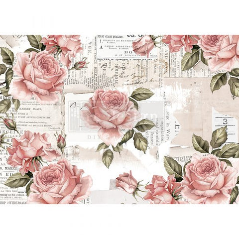 Floral Sweetness Redesign with Prima Rice Paper