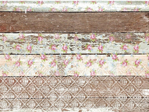 Pallet Wood Pattern Rice Decoupage papers