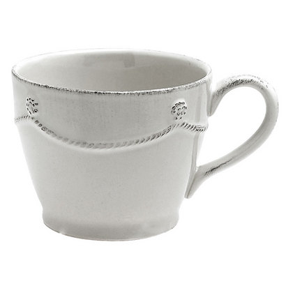 Berry & Thread Cofftea Cup - White