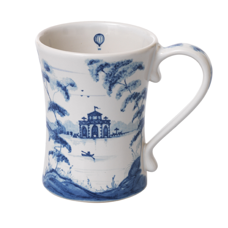 Country Estate Mug - Delft Blue