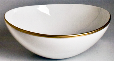 Simply Elegant Cereal Bowl - Gold