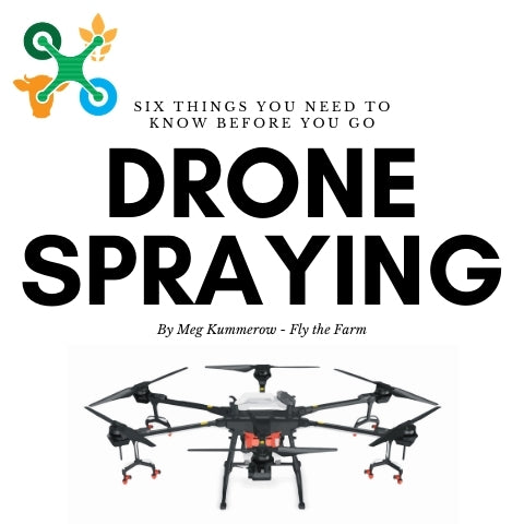 Six things you need to know before you go drone spraying