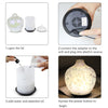 Ultrasonic Glass Aroma Diffuser in Cream