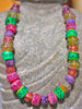 Rose Mint Art Glass Bead Strand