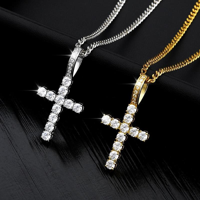 Diamond Cross Necklace - REGISAPEX