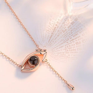 Evil Eye Charm Necklace - REGISAPEX