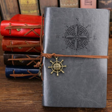 Load image into Gallery viewer, Spiral Leather Notebook