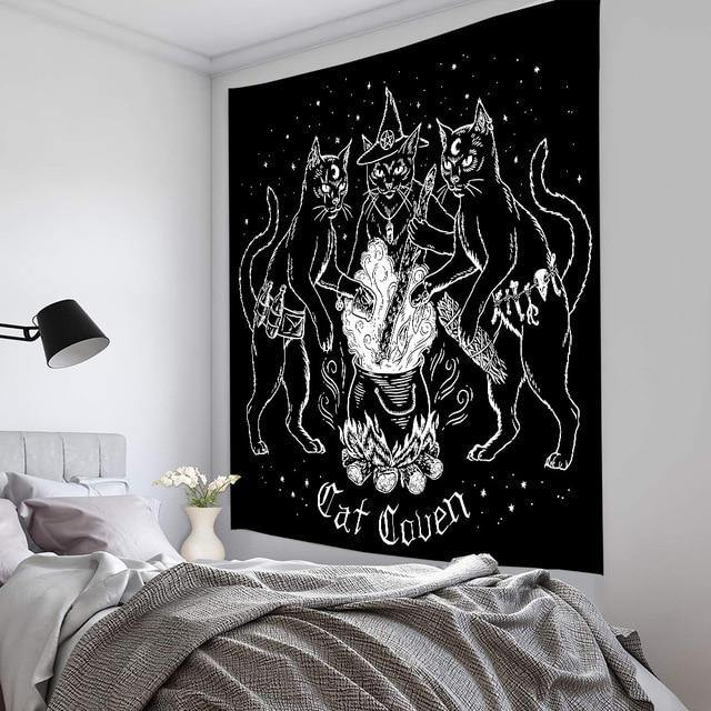 Cat Coven Tapestry - liftd