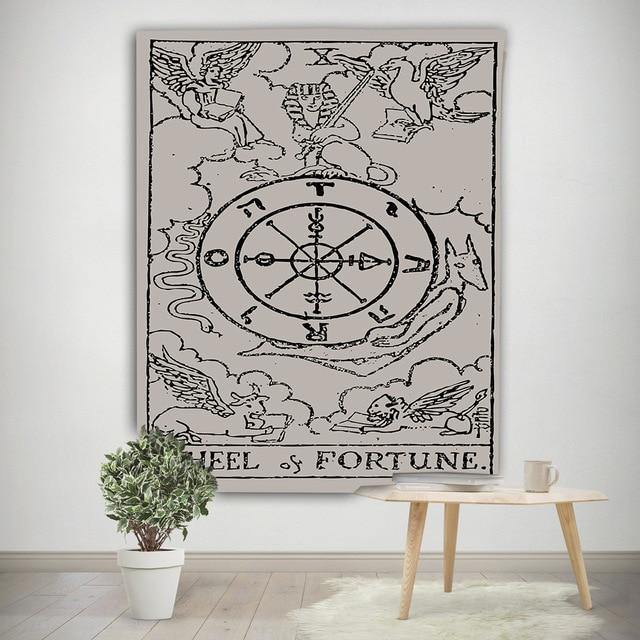 Wheel of Fortune Tapestry - liftd