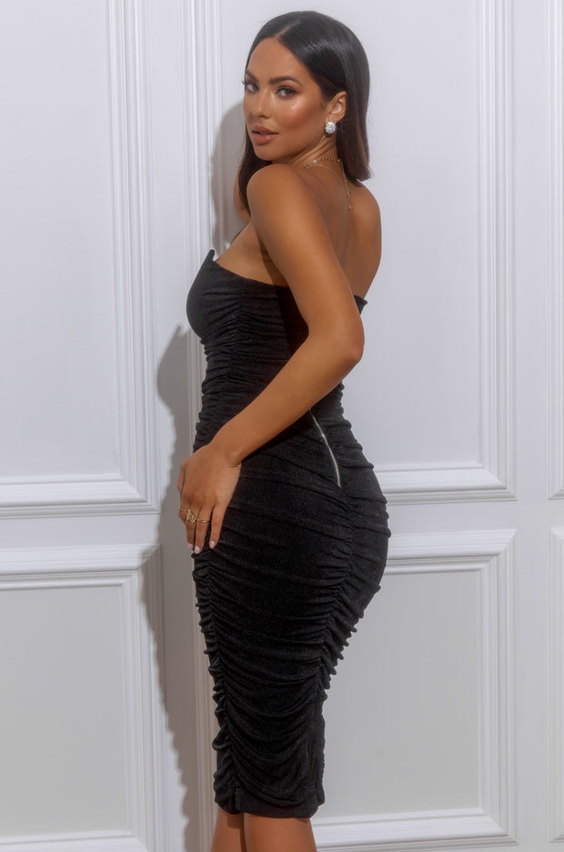 Wifey Type Dress - Black