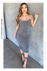 Wifey Type Dress - Olive