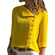 Leisure Blouse Fashion Long Sleeve Women Tops - diNeiLa