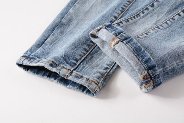 HhhknPatch elastic Jeans